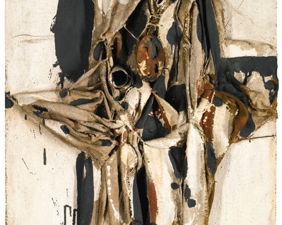 Manolo Millares: Sin título (1961)